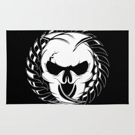 Skull Head Two Rug