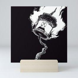 Fire Mallow Mini Art Print