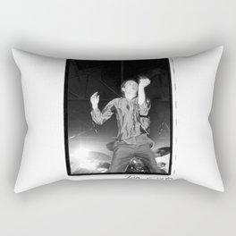 Ian Curtis Dance Rectangular Pillow
