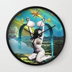 Divination Tarot: Star Wall Clock