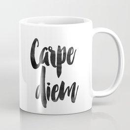 PRINTABLE Instant Download Carpe Diem Print Inspirational Quotes Coffee Mug