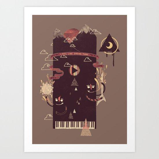 Play! Art Print