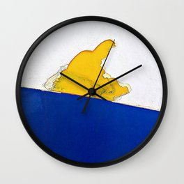 The Sledder Wall Clock