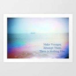 Make Voyages Art Print
