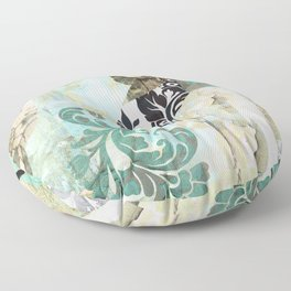 Hummingbird Batik II Floor Pillow