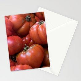 #big #fresh #red #Tomato  Stationery Cards