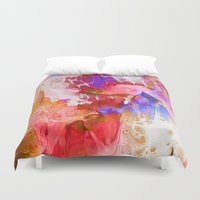psych Duvet Covers featuring Last Breath by Work the Angle