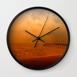 Soul in the wind Wall Clock