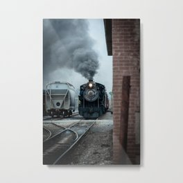 Strasburg Railroad Steam Engine #90 Vintage Train Locomotive Pennsylvania Metal Print