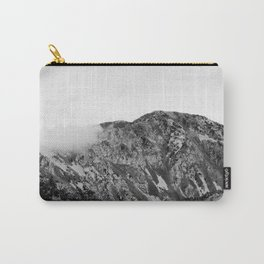 Mountain Clouds // Black & White Edition Carry-All Pouch