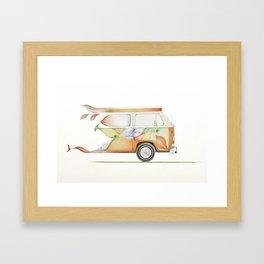 Transporter Framed Art Print