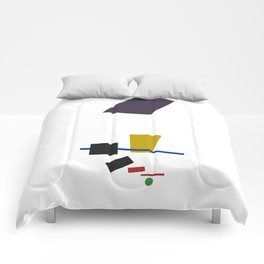 Geometric Abstract Malevic #3 Comforters