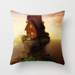 Cast Away Throw Pillow