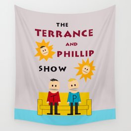 The Terrance and Phillip Show Poster Wall Tapestry