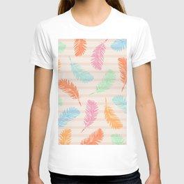 Dancing summer feathers T-shirt