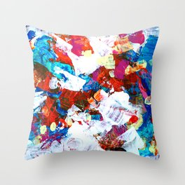 Contagious Dancing Throw Pillow