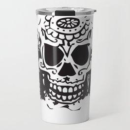 Skull heads Travel Mug