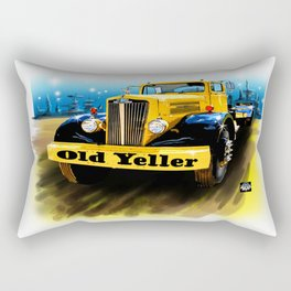 Old Yeller Rectangular Pillow