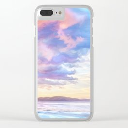 Calm before a storm Clear iPhone Case