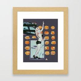 ΔMETHYST FΔILURE Framed Art Print