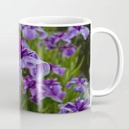 Garden Party (irises) Coffee Mug