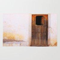 door Area & Throw Rugs featuring Door by  ETE*