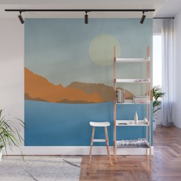 Summer seascape Wall Mural