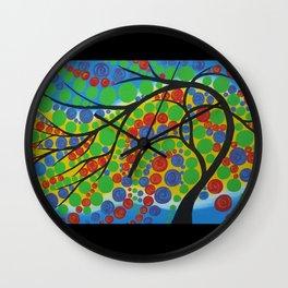 tree of joy Wall Clock