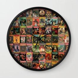 Vampirella Wall Clock