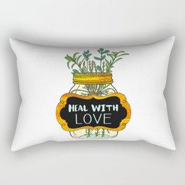 Heal With Love Rectangular Pillow