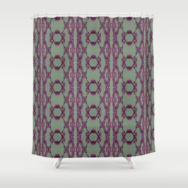 Blueberry lace Shower Curtain