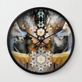 Organza Lampshade Wall Clock