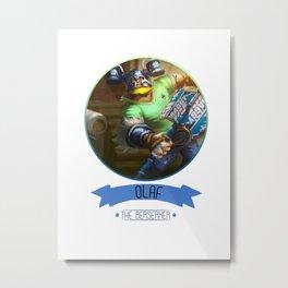 League Of Legends - Olaf Metal Print