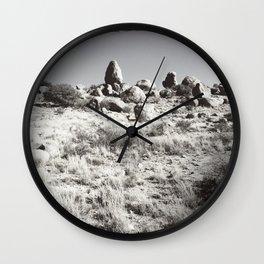 Desert Mushrooms Wall Clock