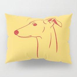 Italian Greyhound (Yellow and Red) Pillow Sham