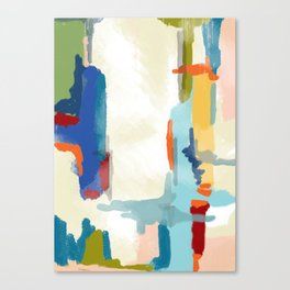 Landscape Deconstructed Canvas Print