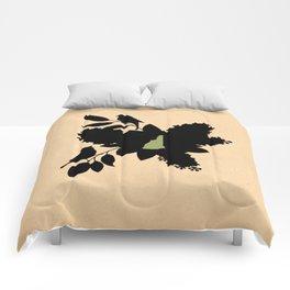 New Hampshire - State Papercut Print Comforters