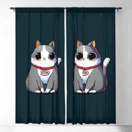 Satan Cat Blackout Curtain