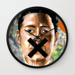 Sorry We're Closed Wall Clock