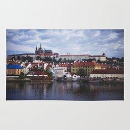 Sunrise Over the Prague Castle Rug