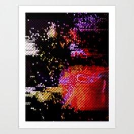 Qubit Art Print