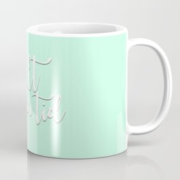 Allt har sin tid - mint Coffee Mug