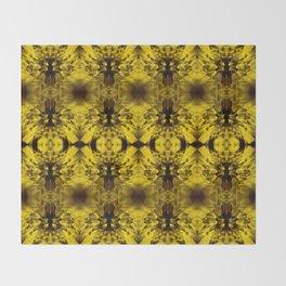 Dandelions Goldenglow Throw Blanket
