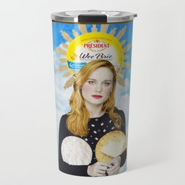The Assumption of Brie Travel Mug
