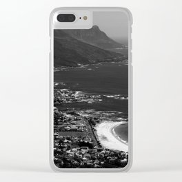 Camps Bay Cape Town Clear iPhone Case