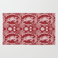 china Area & Throw Rugs featuring Imperial China by Vannina