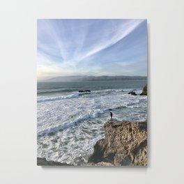Pacific Cliffs Metal Print