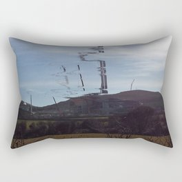 Distorted Construction Rectangular Pillow