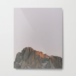 Rocky Dolomites | Nature and Landscape Photography Metal Print
