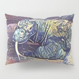 Komodo Dragon Pillow Sham